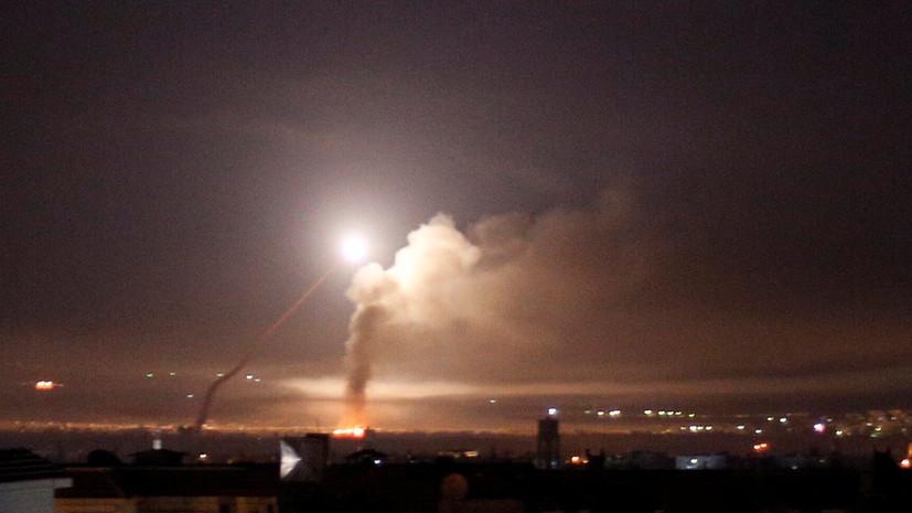 МИД Ирана осудил удары Израиля по Сирии