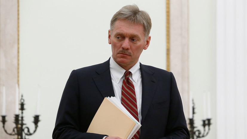 Песков прокомментировал возможность продления полномочий президента