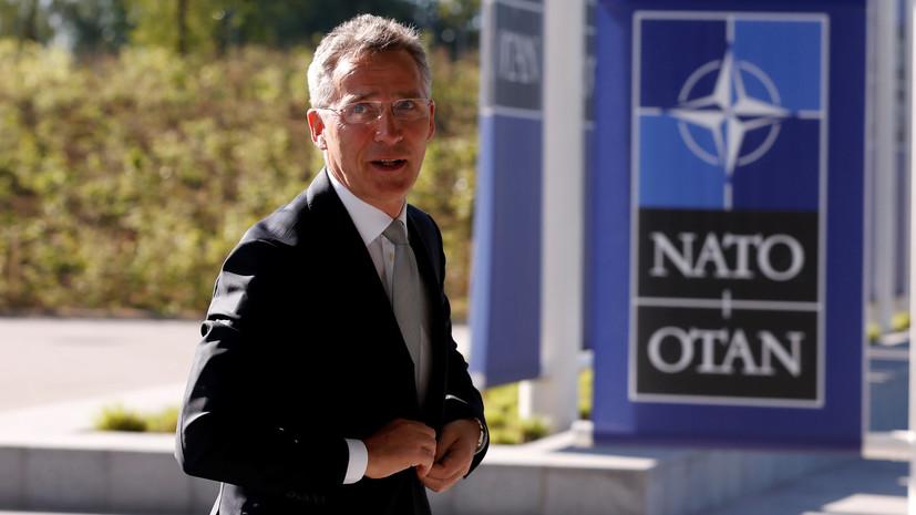 Генсек НАТО посетит США и встретится с Трампом
