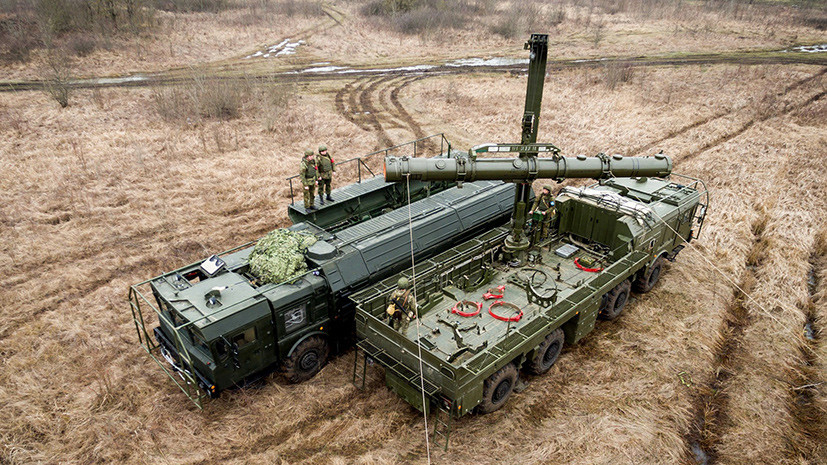 Ракетная бригада под Калининградом перевооружена комплексами «Искандер-М»