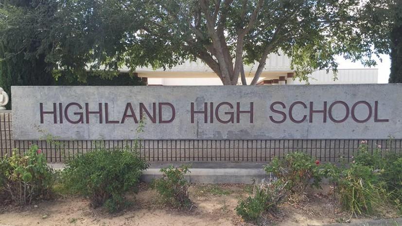 Полиция сообщила о задержании одного человека после стрельбы в школе в Калифорнии
