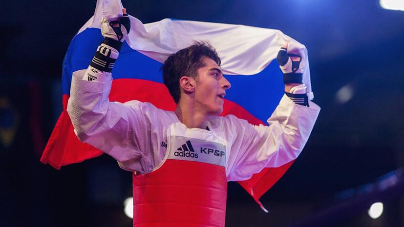 Россиянин Цакоев завоевал серебро в весе до 68 кг на ЧЕ по тхэквондо в Казани