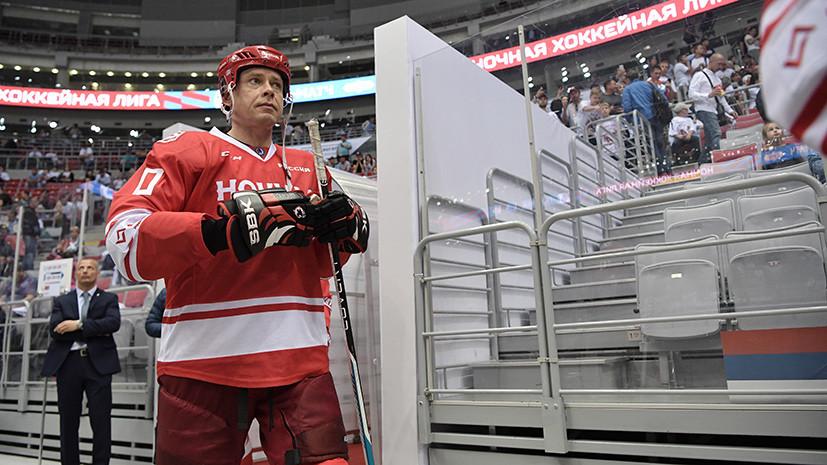 Буре: мне очень нравится сборная России и то, в какой хоккей она играет
