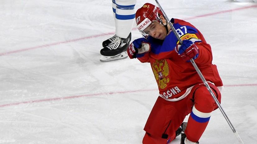 Никита Гусев сыграет в матче против Швейцарии на ЧМ-2018 по хоккею