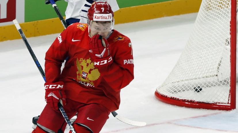 Эксперт назвал причину не самой яркой игры Капризова на ЧМ по хоккею