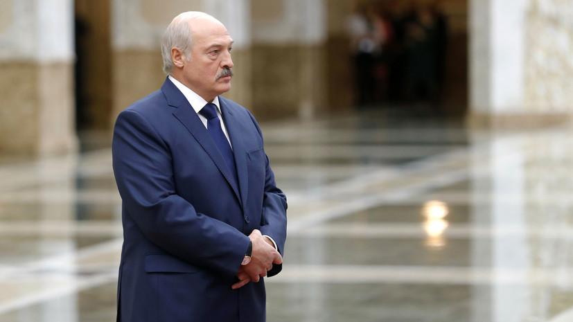 Лукашенко назвал герб и флаг визитной карточкой миролюбивой политики Белоруссии