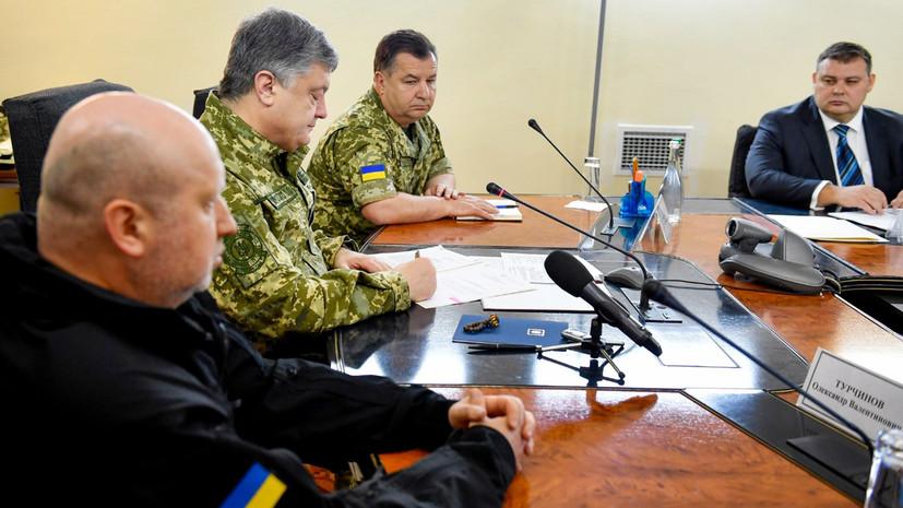 Порошенко подписал закон о выплатах иностранцам в ВСУ