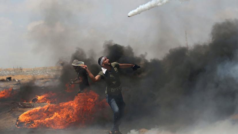 Израиль закроет КПП на границе с сектором Газа из-за беспорядков