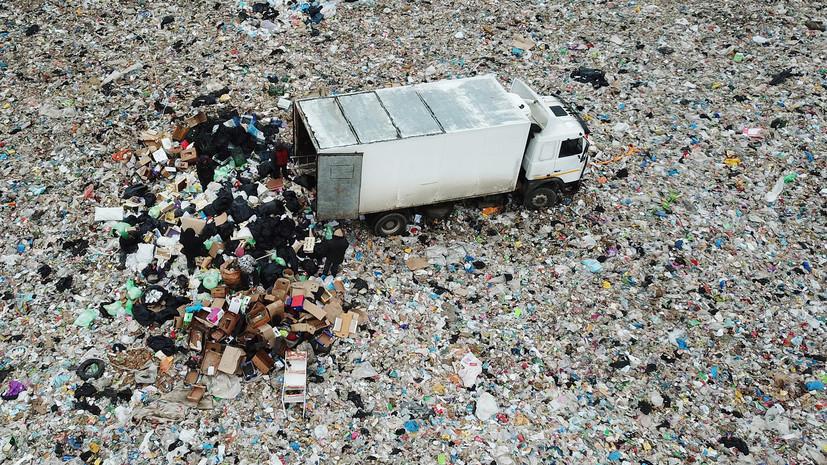 У полигона «Ядрово» неизвестный выстрелил в водителя мусоровоза
