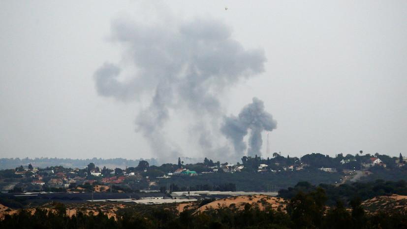 Израильские ВВС нанесли удары по сектору Газа