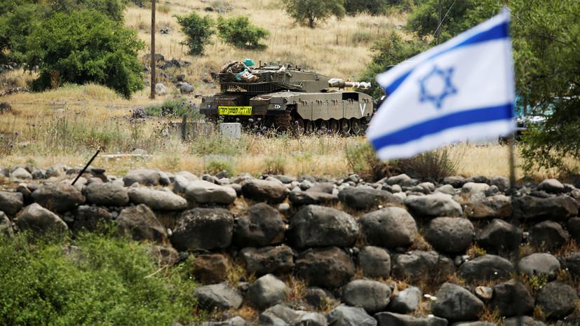 Израиль усилит армию на границе из-за переезда посольства США в Иерусалим