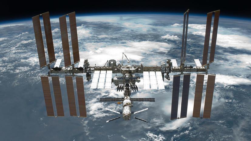 В «Роскосмосе» сообщили о проведении коррекции орбиты МКС