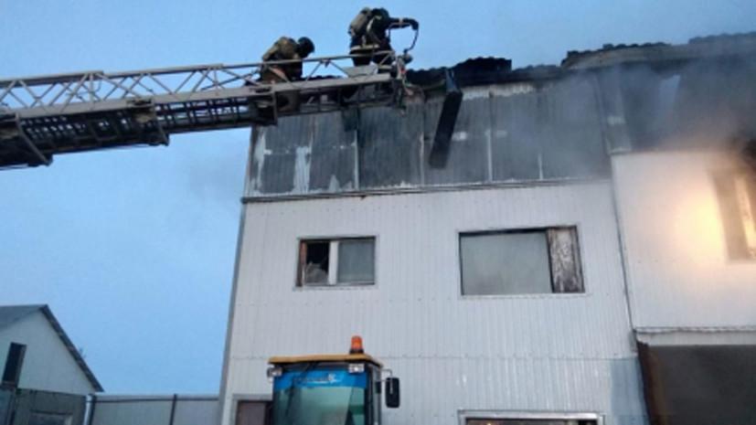 Жертвами пожара в ЯНАО стали четыре человека