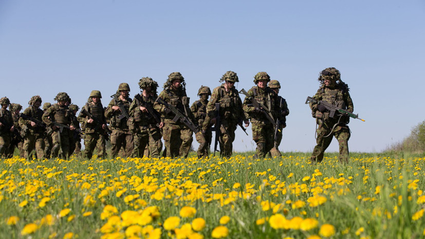В Эстонии завершились крупнейшие в истории страны военные учения