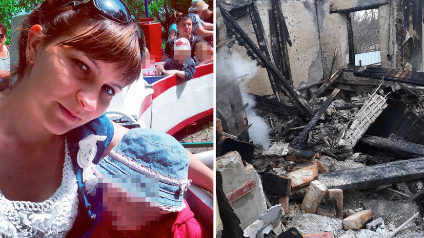 Сельская учительница требует от МЧС ответа за сгоревший на глазах у пожарного-стажёра дом
