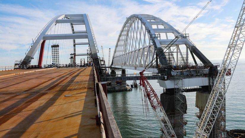 В Керчи запустили движение по путепроводу к Крымскому мосту