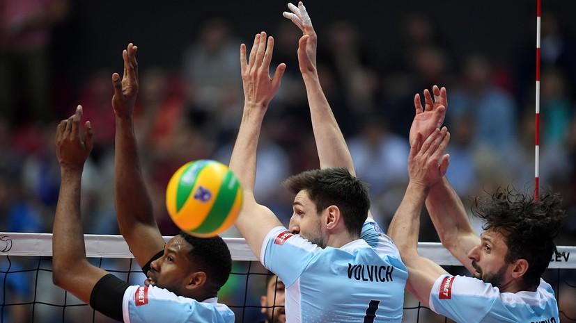 Казанский «Зенит» в четвёртый раз подряд выиграл Лигу чемпионов по волейболу