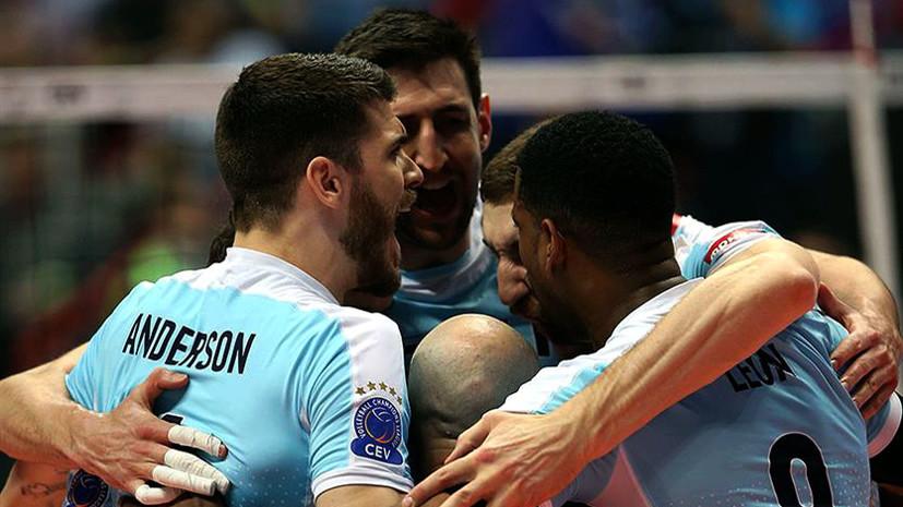 «Не сдаваться ни при каком счёте»: «Зенит» в четвёртый раз подряд выиграл Лигу чемпионов по волейболу