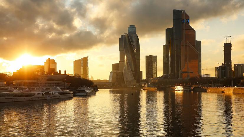 В Москве 14 мая ожидается до +27 °С