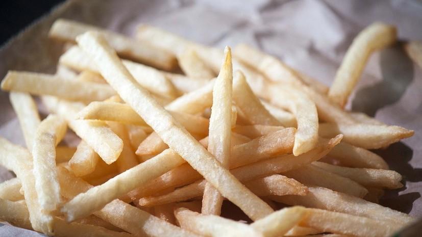 Контрсанкции предлагают дополнить запретом на ввоз в Россию картофеля фри