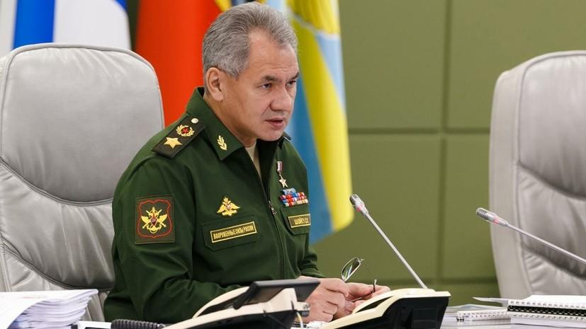 Шойгу заявил об устойчивом расширении военного сотрудничества с Египтом