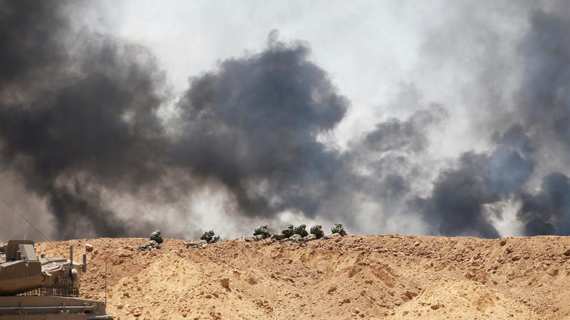 ВВС Израиля нанесли авиаудары по позициям ХАМАС в секторе Газа