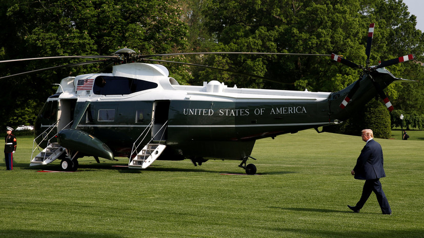 Трамп навестил свою супругу в больнице