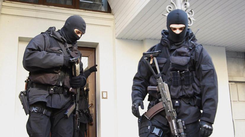 Сотрудники СБУ ворвались в офис РИА Новости Украина в Киеве
