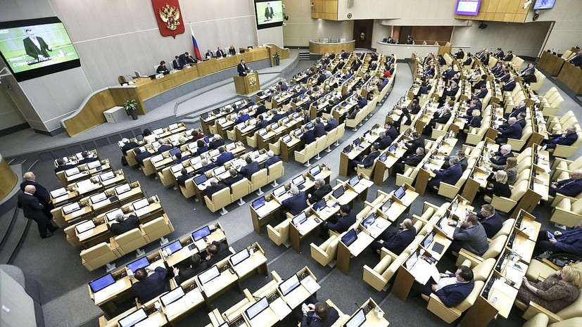 Госдума одобрила законопроект о контрсанкциях