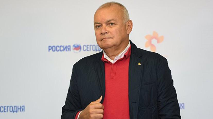 Киселёв призвал освободить задержанного журналиста РИА Новости Украина
