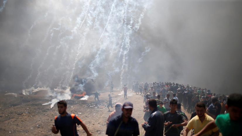 В Кремле выразили обеспокоенность гибелью десятков палестинцевв секторе Газа