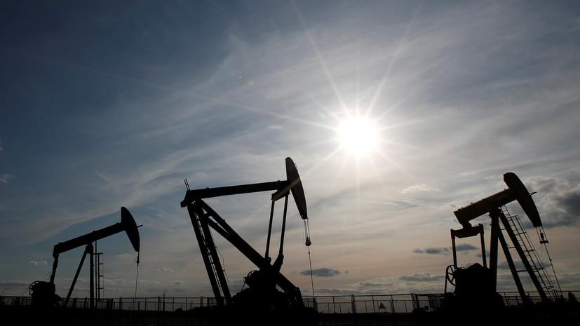 Цена на нефть марки Brent превысила $79 за баррель
