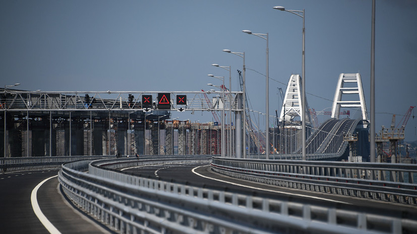 МИД Украины выразил протест в связи с открытием Крымского моста
