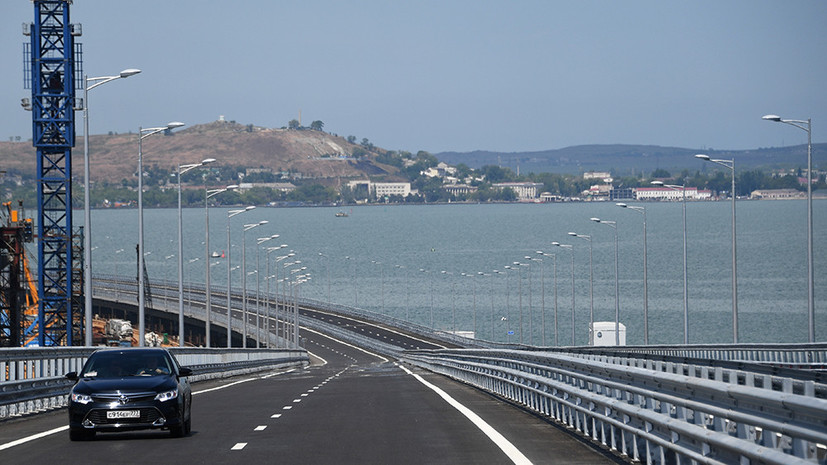 Сенатор от Крыма оценила реакцию Порошенко на открытие Крымского моста