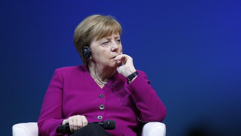 Меркель выразила Нетаньяху обеспокоенность обострением ситуации в секторе Газа