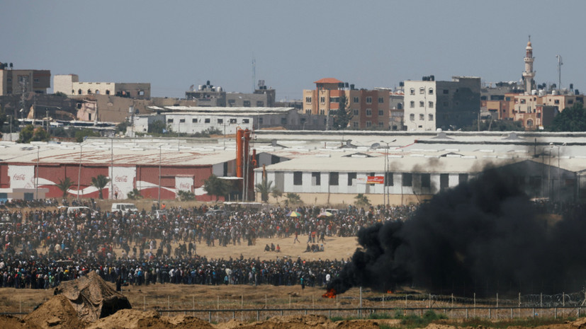 Совбез ООН почтил минутой молчания память жертв беспорядков в секторе Газа