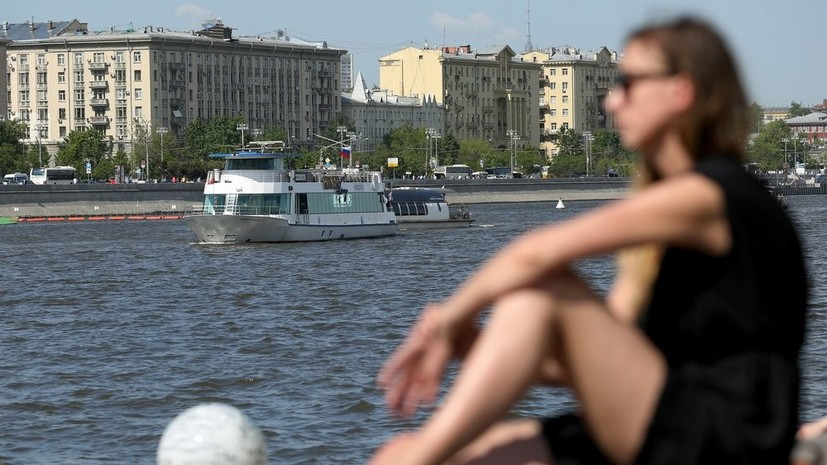 В Москве 16 мая ожидается до +25 °С