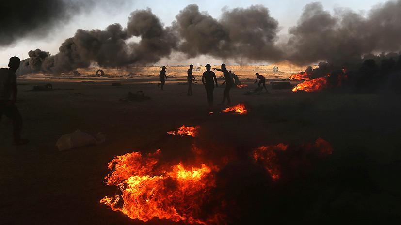 В МИД России заявили об обеспокоенности эскалацией ситуации в секторе Газа