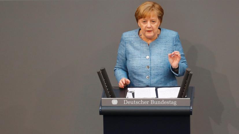 Меркель: Германия и Франция пытаются оживить Минские соглашения