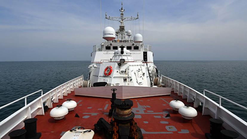 В Крыму возбудили дело против капитана задержанного рыболовецкого судна с Украины