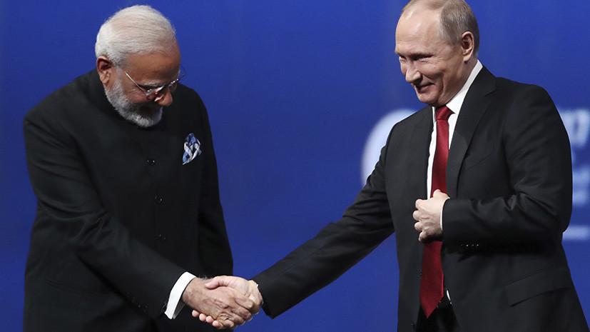 Путин встретится с премьером Индии и президентом Болгарии