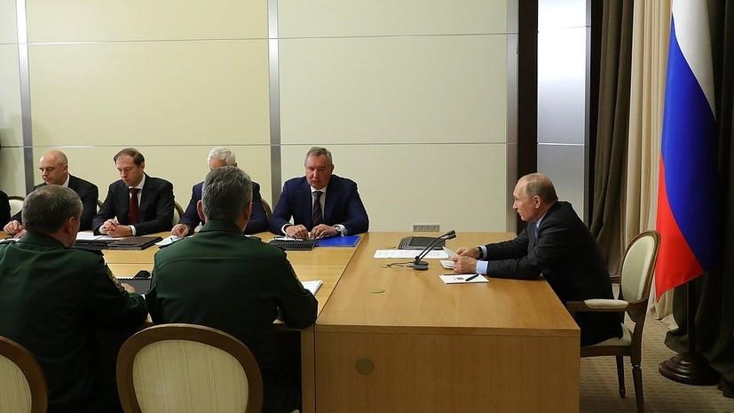 Путин рассказал о планах продолжать укреплять морскую составляющую стратегических ядерных сил