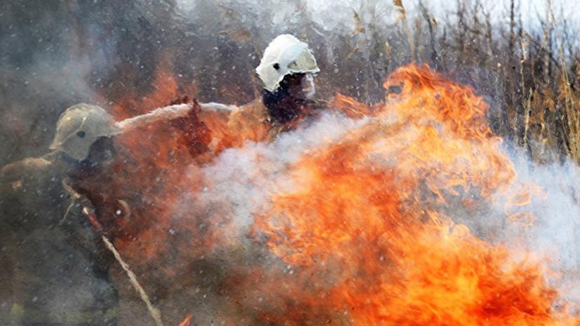 Площадь пожара в Удмуртии увеличилась почти до 20 гектаров