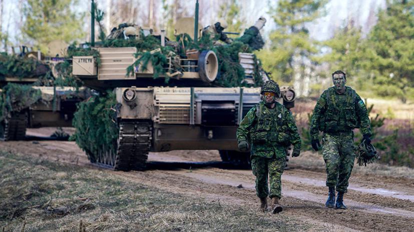 В Латвии пройдут учения с участием трёх тысяч военнослужащих стран НАТО