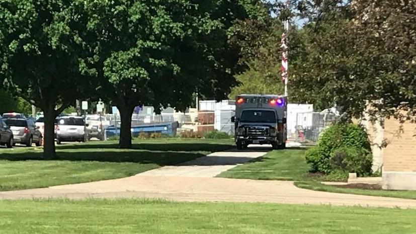 В школе американского штата Иллинойс произошла стрельба