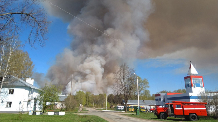 «Не в первый раз»: что известно о пожаре на бывшем военном полигоне в Удмуртии