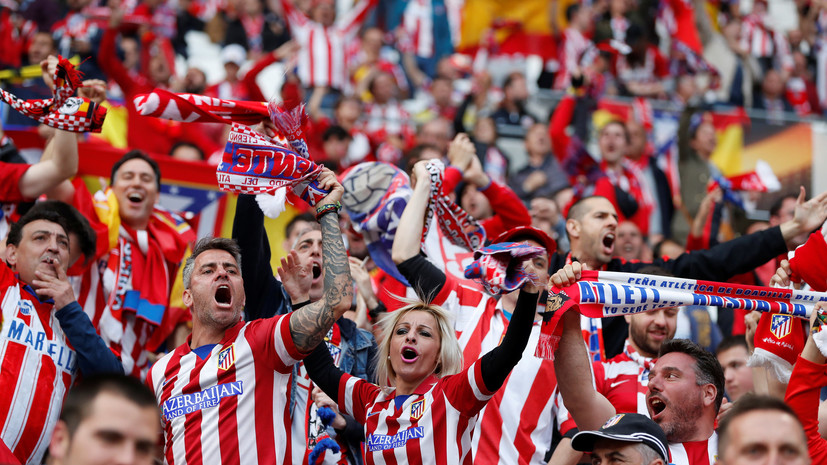 Объявлены стартовые составы «Атлетико» и «Марселя» на финал Лиги Европы