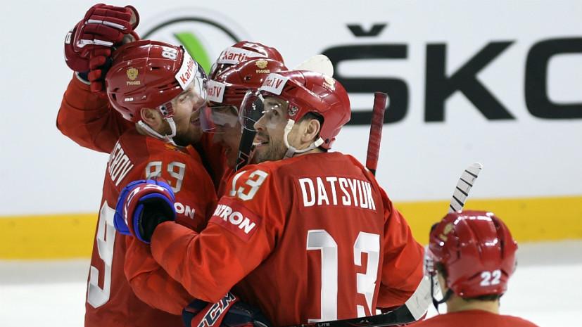 С проблемами, но без провалов: как сборная России шла к игре с Канадой на ЧМ по хоккею