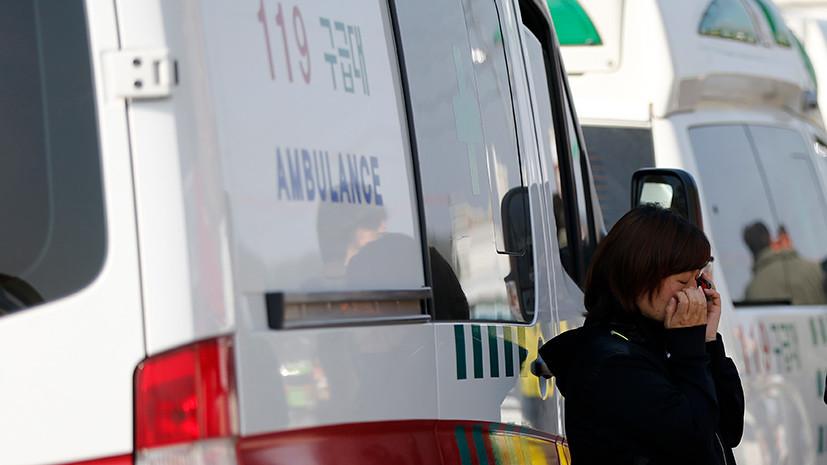 При утечке газообразного хлора на заводе в Южной Корее пострадали 13 человек