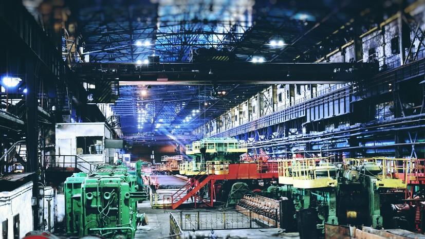 Один из крупнейших металлургических комбинатов Украины остановил работу